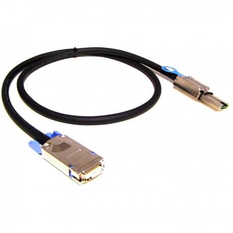 Cable MiniSAS SFF-8088 a CX4 SFF-8470 de 10 Gigabit de 1m