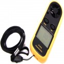 Anemómetro y termómetro digital compacto JT-816