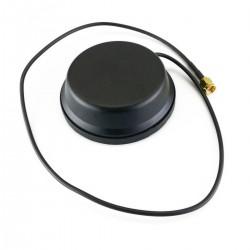 Antena LTE 4G GSM UMTS GPRS WIFI con conector SMA 4.0dBi magnética