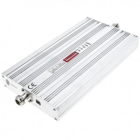 Repetidor amplificador 4G LTE 2600MHz 75dB con antenas y cables