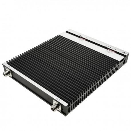 Repetidor amplificador 3G LTE 4G 2100MHz 2600MHz 75dB con antenas y cables