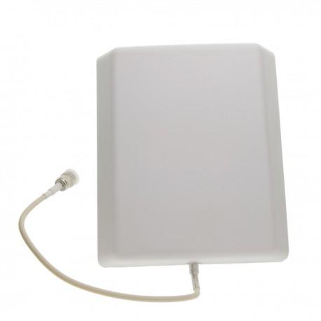 Antena de panel para repetidor GSM 3G 4G LTE de 806-960 y 1710-2500 MHz con conector N