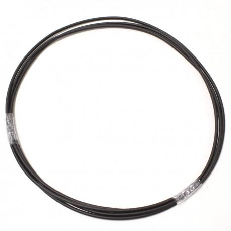 Tubo termoretráctil 2:1 LSHF negro de 3,5mm bobina 3m