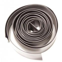 Tubo termoretráctil 2:1 LSHF negro de 20,0mm bobina 3m