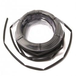 Tubo termoretráctil negro de 4,5 mm en bobina de 12 m