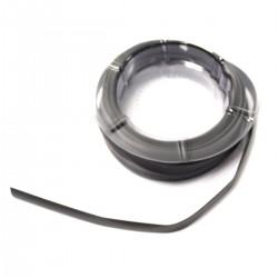 Tubo termoretráctil negro de 9,0 mm en bobina de 8 m