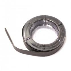 Tubo termoretráctil negro de 18,0 mm en bobina de 5 m