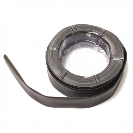 Tubo termoretráctil negro de 25,0 mm en bobina de 5 m