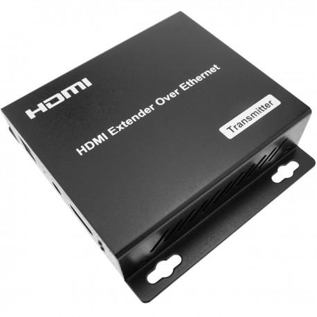Extensor HDMI Prolongador FullHD 1080p a través de cable ethernet Cat.5e Cat.6 120m - Transmisor