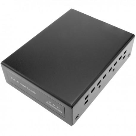 Codificador IP-TV H.265 H.264 para vídeo HDMI a través de red ethernet TCP/IP