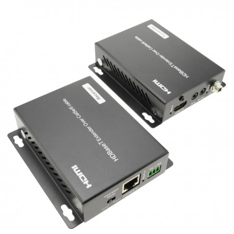 Extensor HDMI UltraHD 4K 2K FullHD 1080p Cat.5e Cat.6 HDBaseT HDBT 70m - Tx y Rx