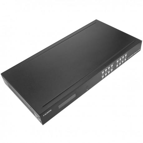 Extensor HDMI UltraHD 4K 2K FullHD 1080p Cat.5e Cat.6 HDBaseT HDBT 70m - Matriz 4x4
