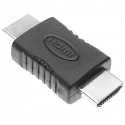 Adaptador HDMI de tipo HDMI-A macho a HDMI-A macho