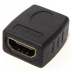 Adaptador HDMI de tipo HDMI-A hembra a HDMI-A hembra