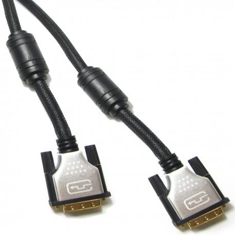 Super cable DVI-D macho a DVI-D macho de 3 m dual link