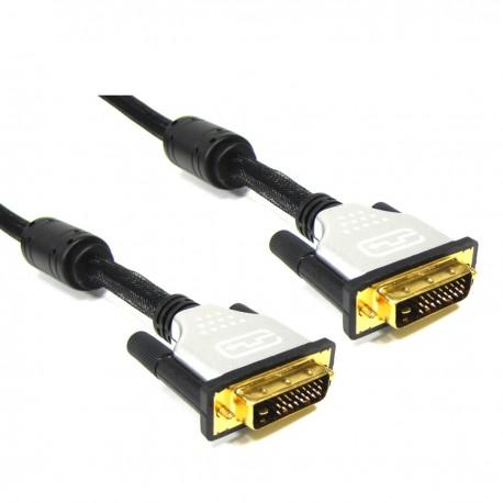 Super cable DVI-D macho a DVI-D macho de 10 m dual link