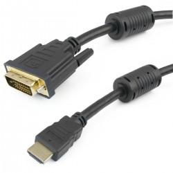 Super cable HDMI 1.4 de tipo HDMI-A macho a DVI-D macho de 1 m