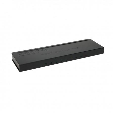 Multiplicador de vídeo HDMI 1.4a 3D 4K de 8 puertos