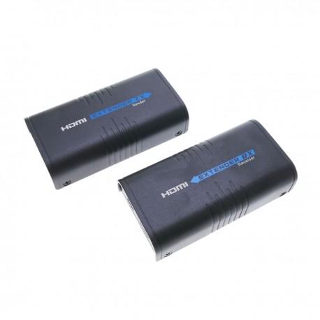 Extensor multiplicador HDMI a través de LAN Tx y Rx