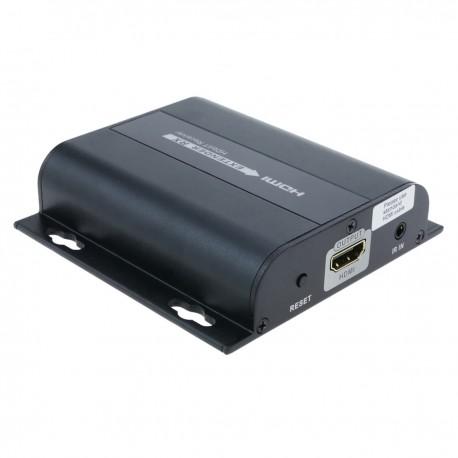 Extensor y multiplicador HDMI a través de LAN Rx con IR