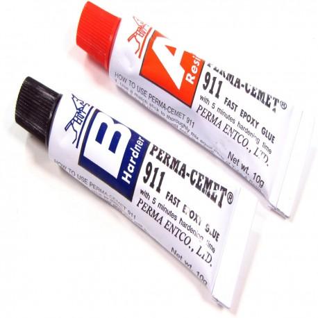 Pegamento de epoxy especial para fibra óptica A + B