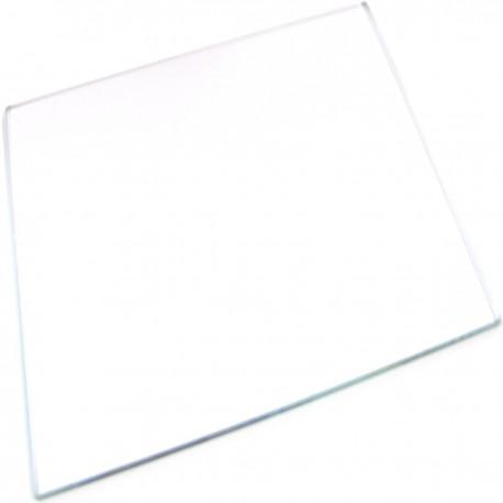 Superficie de cristal para el montaje de conectores de fibra óptica