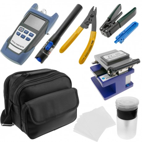 Kit de herramientas para fibra óptica