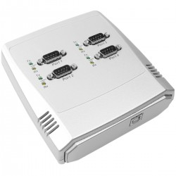 AnyPlaceUSB-COM compartición de puerto serie RS232 a través de red TCP/IP de 4 puertos