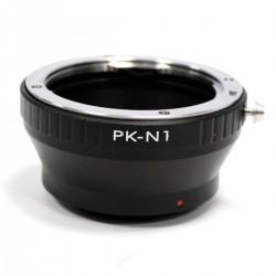 Adaptador de montura Pentax PK a Nikon N1