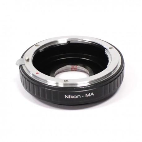 Adaptador de montura Nikon a Sony NEX MA