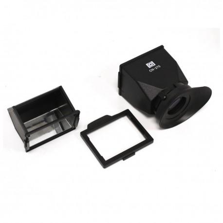 Parasol y ocular de LCD para Nikon D800