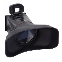 Parasol y ocular con lupa de LCD para Canon 550D