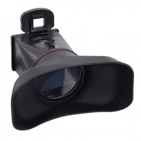 Parasol y ocular con lupa de LCD para Canon 500D