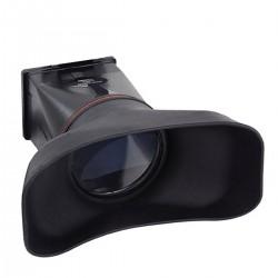 Parasol y ocular con lupa de LCD para Nikon D800