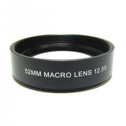 Lente macro 12.5X montura 52mm