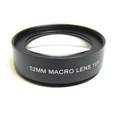 Lente macro 10.0X montura 52mm