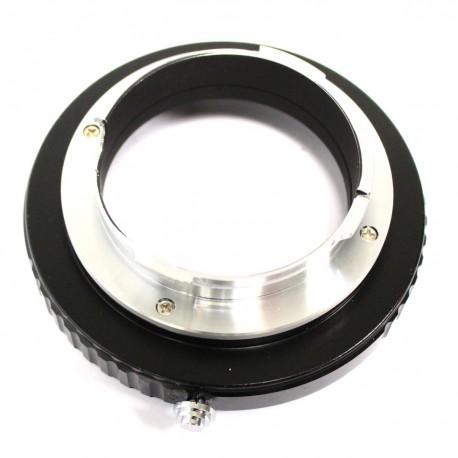 Adaptador de objetivo Canon EOS a cámara Leica M