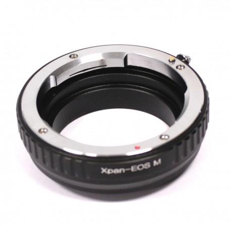 Adaptador de objetivo Hasselblad XPAN a cámara Canon M