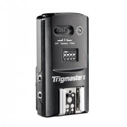 Disparador remoto Aputure Trigmaster II 2.4GHz para Olympus receptor