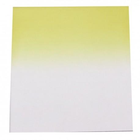 Filtro de fotografia cuadrado para portafiltros cokin 84x95mm amarillo-gradual