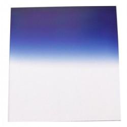 Filtro de fotografia cuadrado para portafiltros cokin 84x95mm azul-gradual