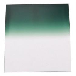 Filtro de fotografia cuadrado para portafiltros cokin 84x95mm verde-gradual