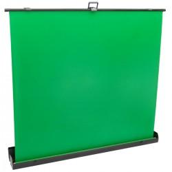 Pantalla chroma key extensible. Fondo verde plegable para fotografía y vídeo 210x200cm