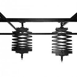 Kit de rail de techo para iluminación de estudio con pantógrafos 4x2m