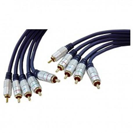 Cable OFC 5xRCA-M/M (5m)