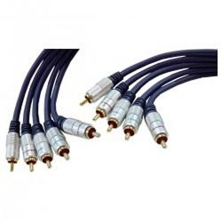 Cable OFC 5xRCA-M/M (10m)