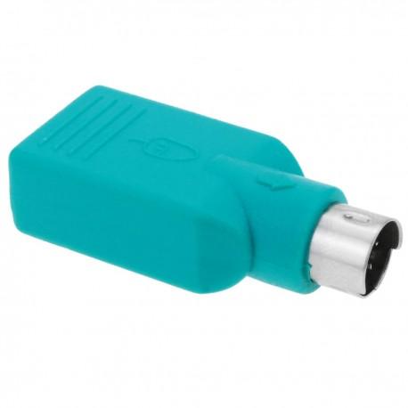 Adaptador USB a PS2 (MiniDIN6-M a USB A-H)
