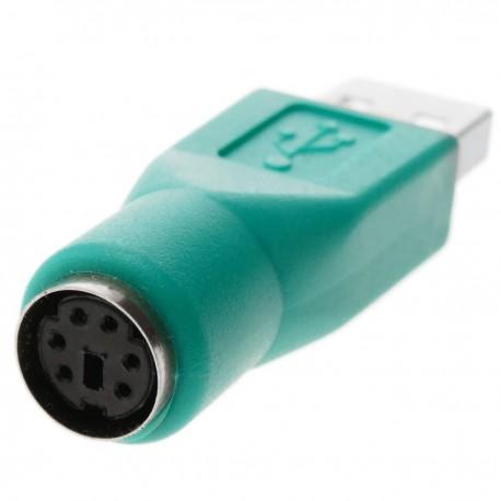 Adaptador PS2 a USB (USB A-M a MiniDIN6-H)