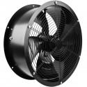 Extractor de aire de tubo de 500 mm para ventilación industrial 1350 rpm redondo 580x580x260 mm