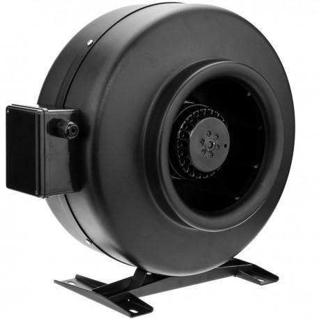 Ventilador de tubo de 200 mm. Extractor de conducto en línea para la ventilación industrial